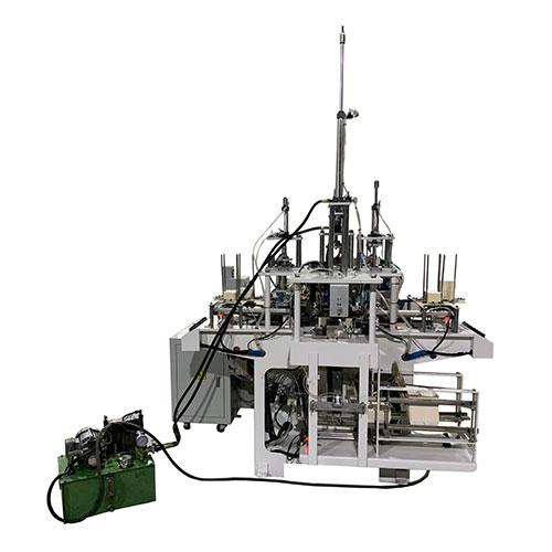 CHJ-DG全自动多格餐盒成型机(加热+高周波)
